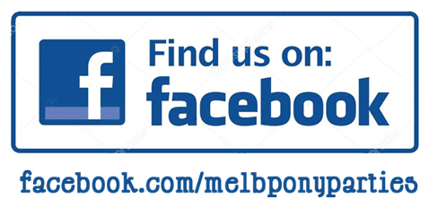 Melbourne's Pony Parties on Facebook