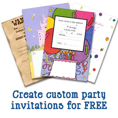 Download FREE party invitations!