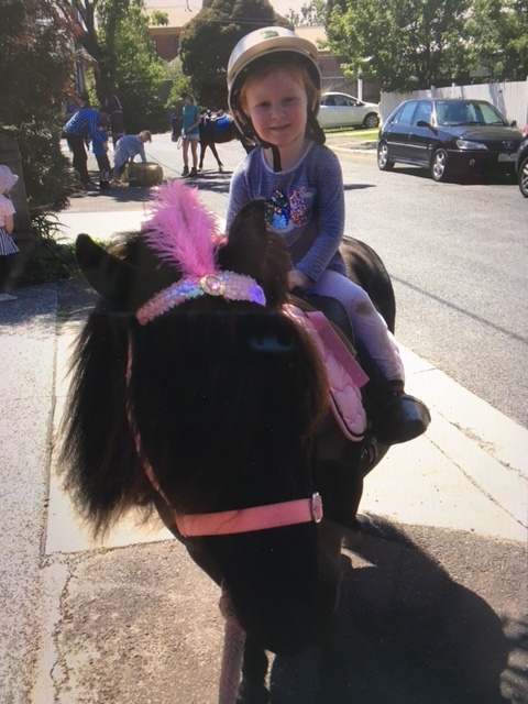 Pony Parties in Melbourne bring everything. You just need to bring the kids!